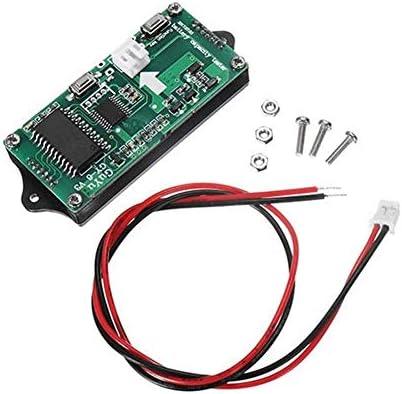 ZT-TTHG 3枚GY-6 Y6 12V、24V、36V、48V鉛蓄電池2-15Sリチウム電池ユニバーサル調節可能な6-65Vグリーンスクリーン防水LCDの表示容量基板のインジケータデジタル電圧計スポットSteuermodul