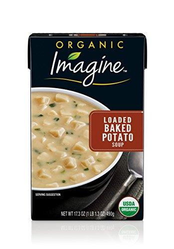 Imagine Organic Soup, Loaded Baked Potato, 17.3 oz. (Pack of 12) -