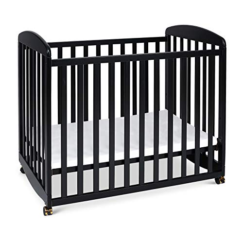 DaVinci Alpha Mini Rocking Crib, Ebony