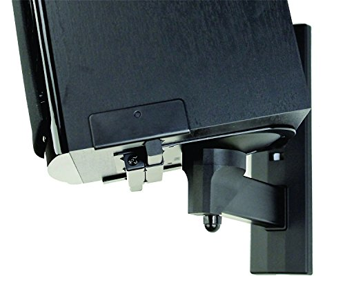 Pinpoint Mounts AM41B Side Clamping Bookshelf Speaker Wall Mount by UOKOO (Image #3)