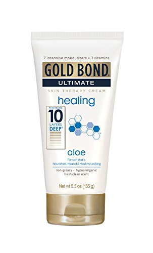 Gold Bond Ultimate Skin Therapy Cream, Healing, Aloe, 5.5 Ounce (Pack of 6) For Sale