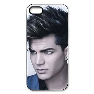 Custom Adam Lambert Cover Case for iPhone 5 PP-0387 by icecream design