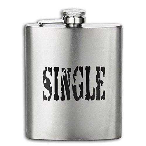 Cooby Roman Single Symbol Funny Logo Stainless Steel Pocket Flagon Shot Flask Hip Flask Wine Pot
