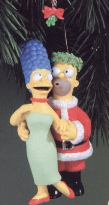 Simpsons Homer and Marge