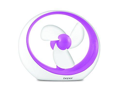 Beper Mirò – Mini ventilador USB, color turquesa