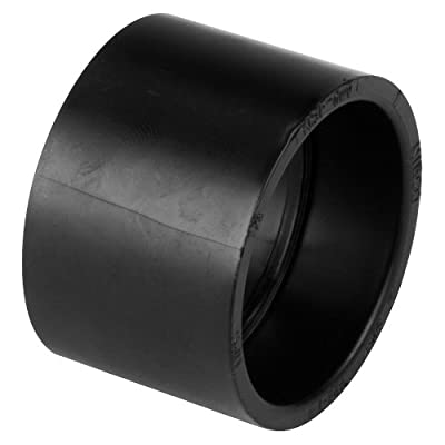 NIBCO 5801 Series ABS DWV Pipe Fitting, Coupling, Schedule 40, Hub