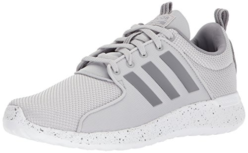 adidas NEO Men's CF Lite Racer Running Shoe,grey two/grey three/white,8 M US (Adidas Neo Womens Lite Racer Casual Shoes)