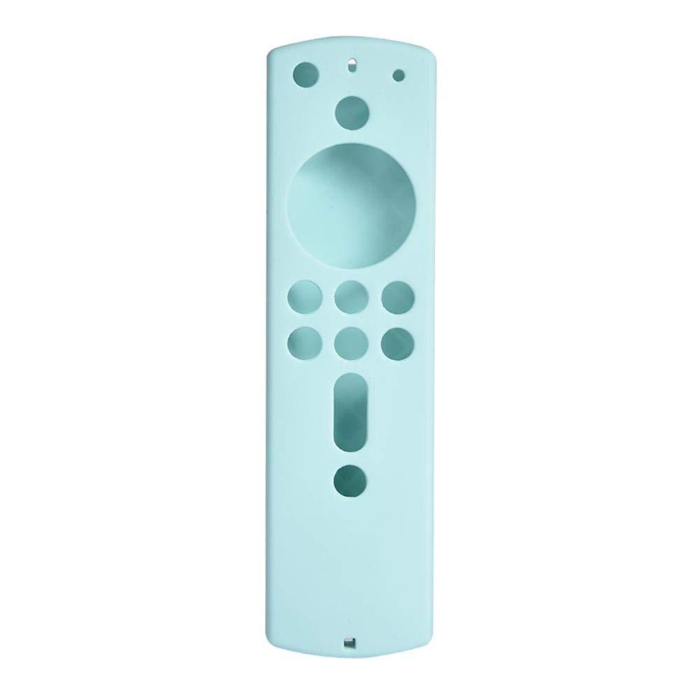 Leggero Zchui Pratico Antiurto Custodia Protettiva in Silicone per telecomandi Resistente e Morbido Taglia Libera Blue Accessorio Antiscivolo per Fire TV