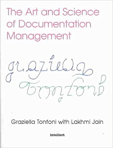 The Art and Science of Documentation Management  (By  Graziella Tonfoni)   39352bc7af38