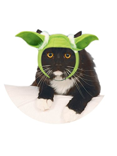 Rubie's Star Wars Classic Yoda Cat Headpiece, -