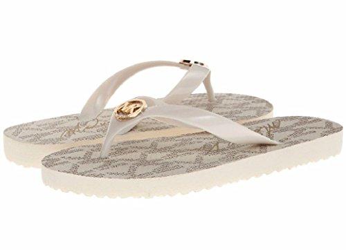 Michael Kors Flip Flops Vanilla Size 6 Womens