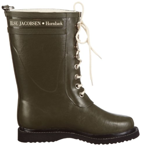 Ilse Jacobsen Rub15 Army Green Womens Boots Army