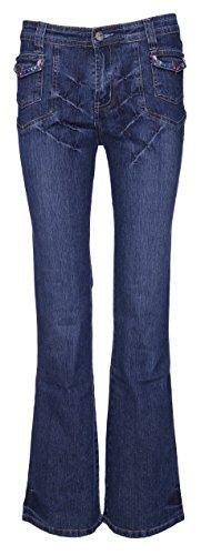 Mujer Vaqueros Shop Lets Pantalones Para Cut Boot R081Y1Uq