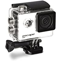 Kitvision Escape HD5 720p Waterproof Action Camera with Mounting Accessories - White