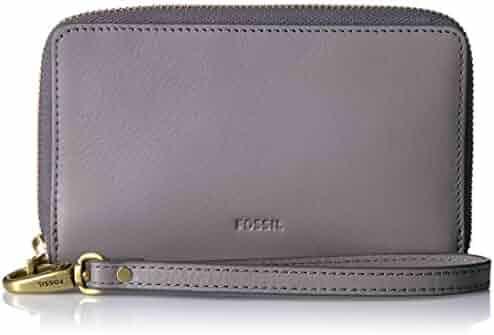Fossil Emma Rfid Smartphone Wristlet-Grey