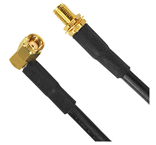 - RF Cable Assemblies 4' R-angle RPSMA ma ale / RPSMA fem conn