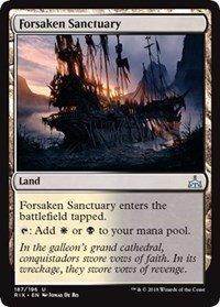 Forsaken Sanctuary - Foil - Rivals of -
