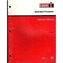 1990 IH CASE 8610 BALE PROCESSOE Rac 9-13632 OPERATORS MANUAL (248)