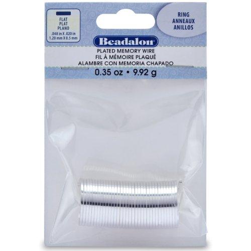 Beadalon Silver Memory Beading 0 35 Ounce