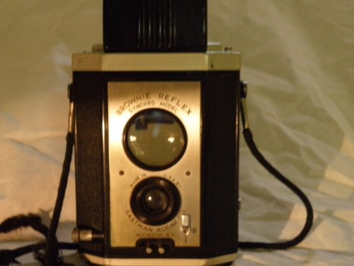 [Brownie Reflex Synchro Model Vintage Kodak Camera] (Kodak Brownie Reflex Camera)
