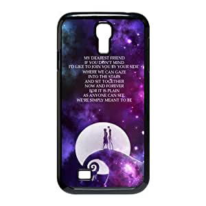 DIY Fashion The Nightmare Before Christmas Hard Shell Slim Phone Cover Case for Samsung Galaxy S4 i9500