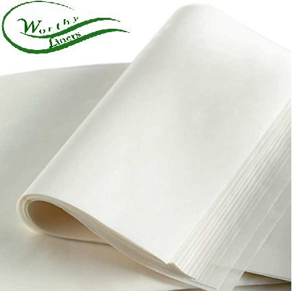 Worthy Liners Parchment Paper Pan Liner - 10 '' X 15 '' 100 Pack by Worthy Liners