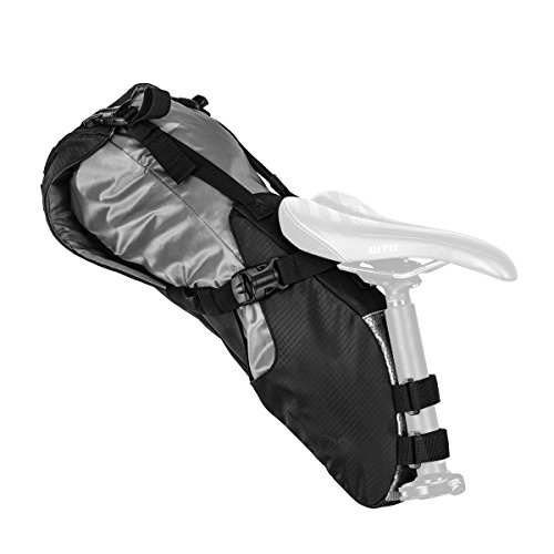 Blackburn Outpost Seat Pack with Dry Bag - Black ()