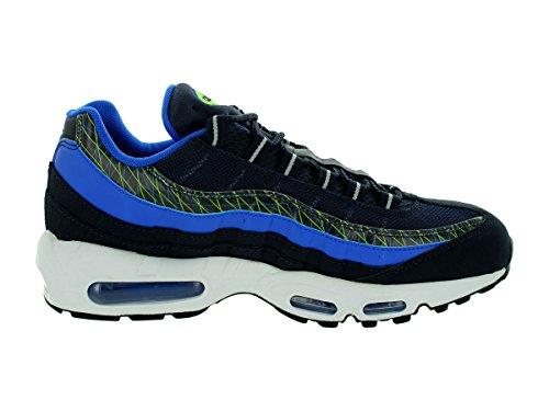 Nike Mens Air Max 95 Prm Scarpa Da Corsa Dark Ossidiana / Iper Cobalto
