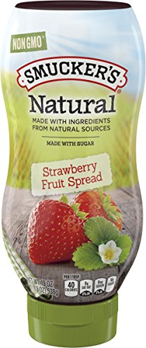 Smucker's Natural Strawberry Fruit Spread, 19 oz