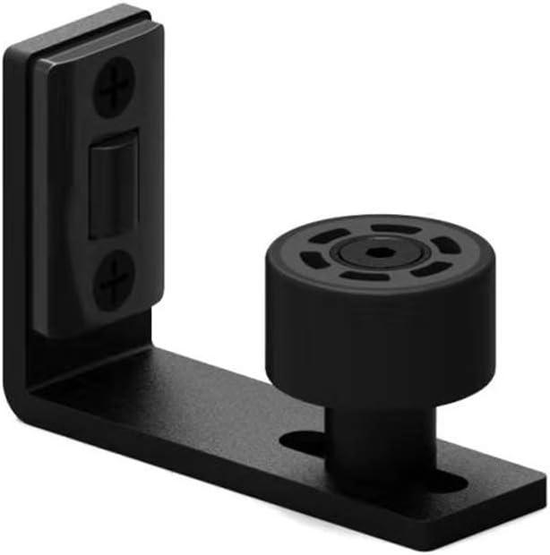 gu/ía de piso de rodillo ajustable montada en la pared Gu/ía de piso de puerta corredera de granero TSMST gu/ía inferior suave y silenciosa para puerta corredera