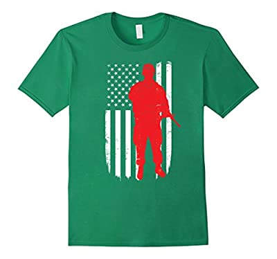 Army Soldier Flag Day Memorial T-shirt