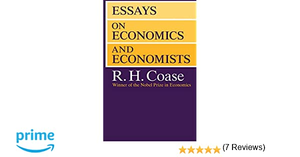 essays on economics and economists economics books  essays on economics and economists 9780226111032 economics books com