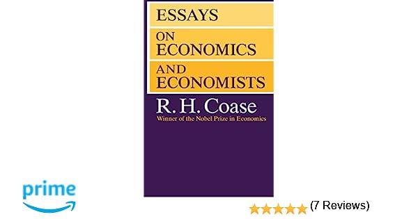 essays on economics and economists economics books  essays on economics and economists 9780226111032 economics books com