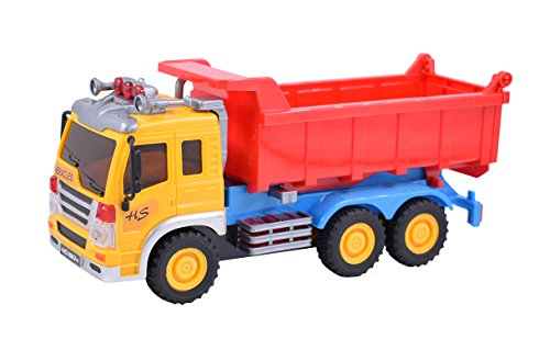 (Verphaoed Friction Powered Dump Truck Sand Toys for Kids)
