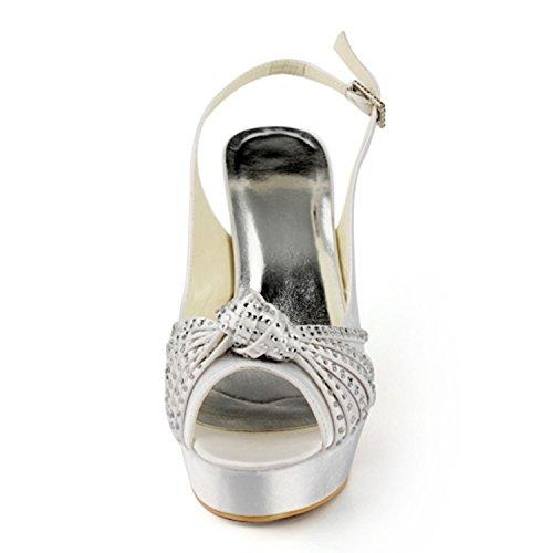 Col Tacco Scarpe Heel Minitoo Ivory Donna 13cm B5qxwv