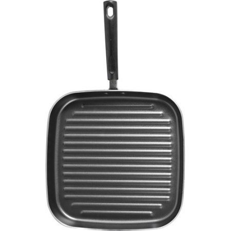 "Mainstays 11"" Non-stick Square Grill Pan (Black)"