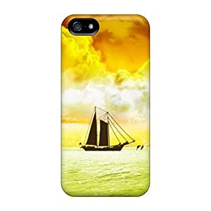 Top Quality Protection Ship Case Cover For Iphone 5/5s