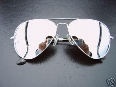 c3a42dcfd4ad3 ALPLAND Lunettes De Soleil Lunettes Moto Speed II Miroir Total Incl. Étui  Souple