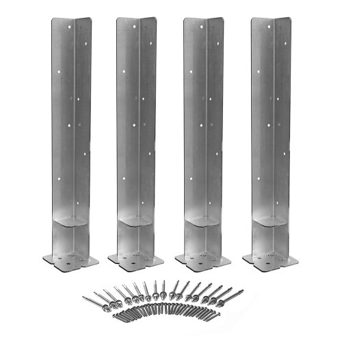 Weatherables Concrete Mounting Kit, Set of 4
