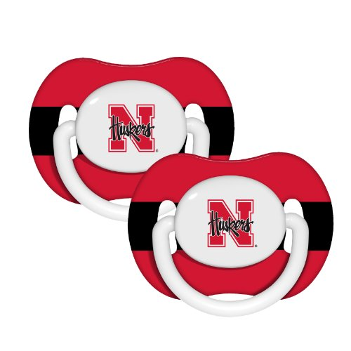 NCAA Nebraska Cornhuskers Pack Pacifier
