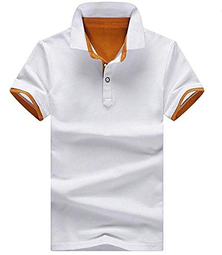 [アスペルシオ] 半袖 ポロシャツ 無地 メンズ