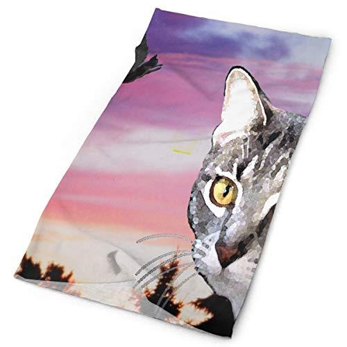 CHU - Diadema cálida con diseño de Ardilla y máscara de Cuello para Exteriores, Color7, Una Talla