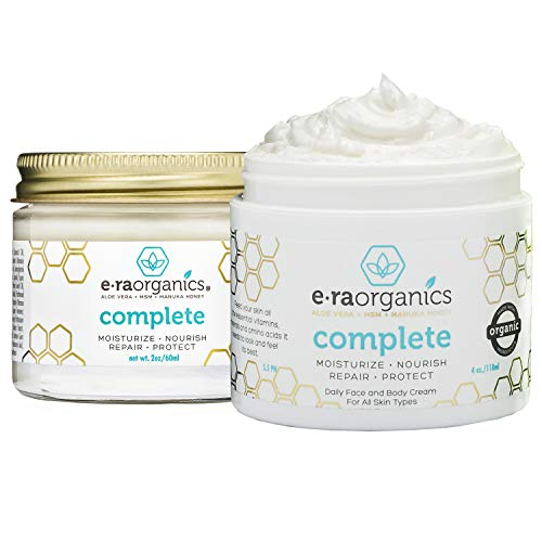 Natural & Organic Face Cream - (2 pack) 4oz Natural Face...