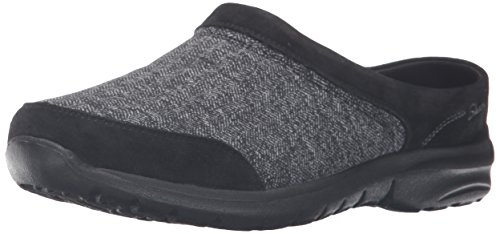 Skechers Relaxed Living-Tweedy Mujer US 6 Negro Pantuflas