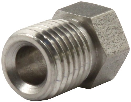 Allstar ALL50111 3/8-24 Stainless Inverted Flare Nut for 3/16