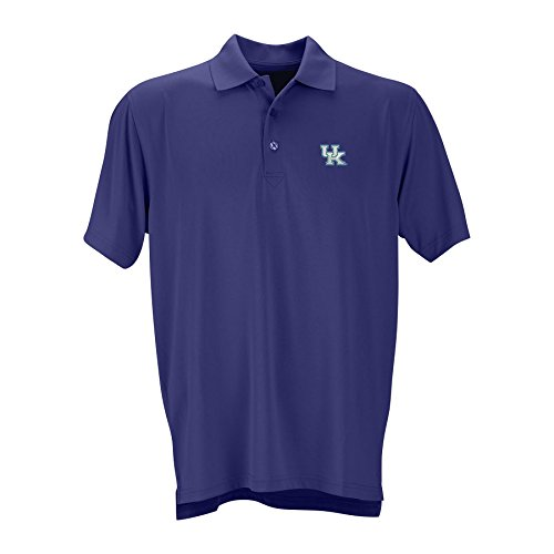 Kentucky Wildcats Performance Polo Blue - L (Tagless Cat Collar)