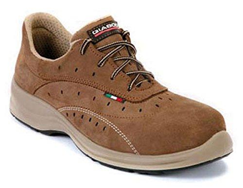 Giasco Agadir - Calzado de protección laboral, talla 46, color marrón