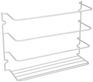 Grayline 40231, Door or Wall Wrap Rack, White