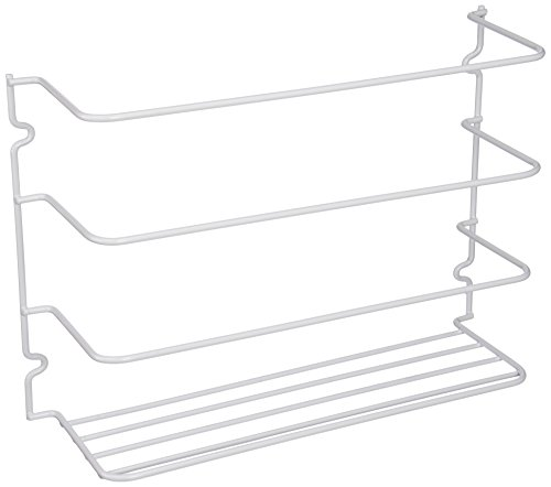 Grayline 40231, Door or Wall Wrap Rack, White