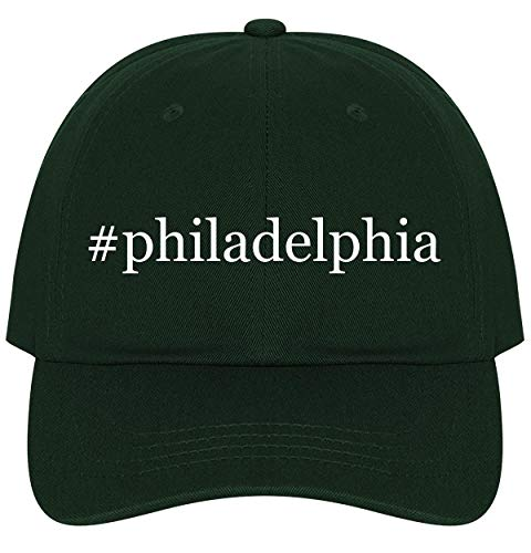 The Town Butler #Philadelphia - A Nice Comfortable Adjustable Hashtag Dad Hat Cap, Forest